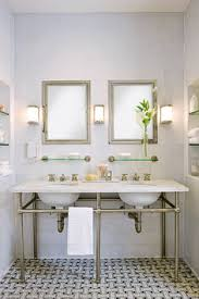 Boutique Bathroom Ideas Marble Slab Shower With Simple Bench And Different Floor Tile