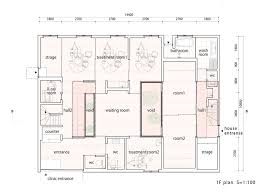 Architectural Floor Plan by Atlas House Tomohiro Hata Architect And Associates Archdaily