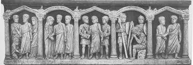 10 peter in the house of tabitha late an tique sarcophagi and