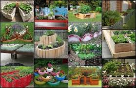 Ideas Garden Unique Raised Garden Bed Ideas