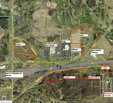 5 acres commercial land i 94