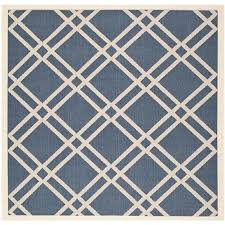 Ebay Outdoor Rugs Square Indoor Outdoor Rugs Navy Indoor Outdoor Rug Square 4 Area