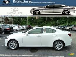 white lexus is 250 for sale 2011 starfire white pearl lexus is 250 awd 52118021 gtcarlot