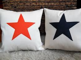 Blue Union Jack Cushion Bambina Di Cioccolato Cushions U0026 Pillows