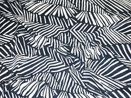 navy blue u0026 ivory print linen u0026 cotton john kaldor dress fabric