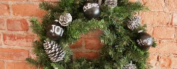 chalkboard silver pinecone ornaments by beth at the stories of a