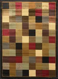 5 8 Area Rugs Image Is Loading Contemporary Geometric Squares 5 8 Area Rug