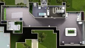 futuristic house floor plans mod the sims long waterside futuristic house