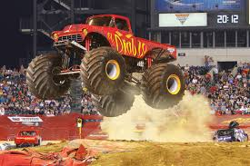 monster truck jam anaheim monsterjam this saturday in anaheim macaroni kid