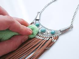 real turquoise necklace images How to clean silver turquoise jewelry 10 steps with pictures jpg