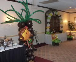 jungle safari babyshower decoration ideas
