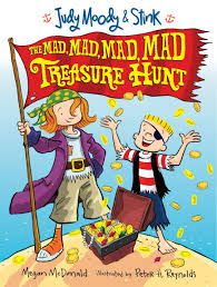 amazon com judy moody and stink the mad mad mad mad treasure