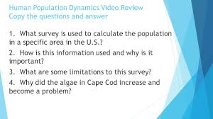 environmental science unit 5 human population dynamics ppt download