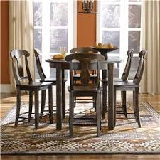 oval pub table set canadel chlain custom dining b customizable b counter height