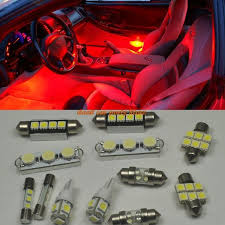 chevy silverado interior lights 12 bright red led interior lights package for 2007 2013 chevy