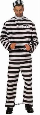 prisoner costume striped cotton prisoner costume candy apple costumes cop