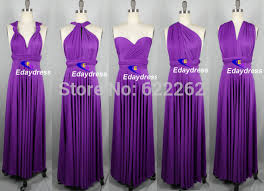 regency purple bridesmaid dresses aliexpress buy design a line floor length regency