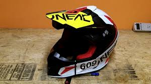 oneal motocross helmets gear review o u0027neal 10 series helmet and gopro session youtube
