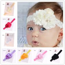 newborn hair bows 30pcs shabby chiffon hair flower headband s hair bows hairband