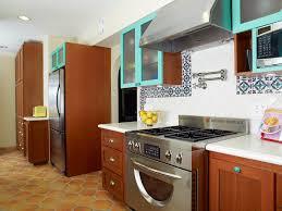 Kitchen Sink Spanish - london spanish tile backsplash kitchen eclectic with rug dining