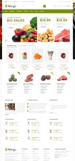 15 themes for an organic food shop healthy food