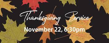 redeemer city church thanksgiving service