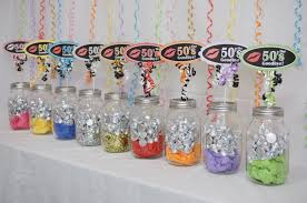 60th birthday centerpieces for tables 60th birthday decoration available in 9 colors 60th candy