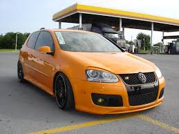 orange volkswagen gti pharfruminsain
