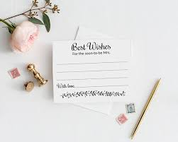 best wishes bridal shower bridal shower guest book cards best wishes soon be mrs