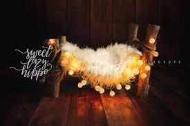 lazy christmas lights newborn christmas digital backdrop newborn bed photo prop