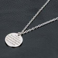 inspirational necklaces you are braver stronger smarter inspirational necklaces keyrings