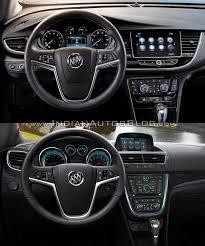 buick encore 2017 buick encore vs 2013 buick encore interior dashboard driver