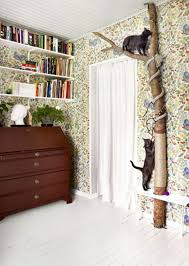 cat wall furniture accessories natural cat tree with mural wall 20 indoor cat tree