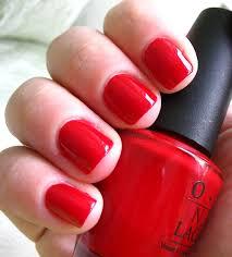 red nail polish colors image tips