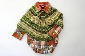 ponchos a palillo como tejer poncho para bebé a palillos patrón de tejido marina