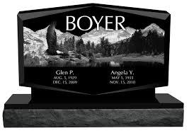 design a headstone headstones atchison monuments granite