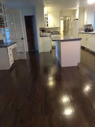 we recently resanded oak hardwood floors and refinished them