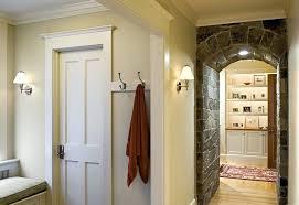 Traditional Exterior Doors Exterior Door Trim Ideas Arched Window Casing Window Casing Door