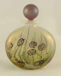 garden sweet violets flask perfume bottle isle of wight