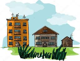 types of houses three types of houses municipal private and rural u2014 stock