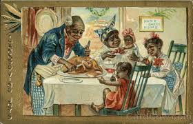 thanksgiving joys with black family carving turkey