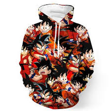 stylish low price dragon ball z hoodies and apparel