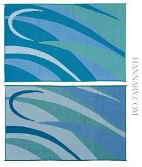 Rv Patio Rug Mings Mark Gb3 Blu Grn Graphic Reversible Rv Awning Patio Rug Mat