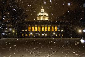 Winter Lane Light Flurries by Photo Friday Favorites University Of Rochester