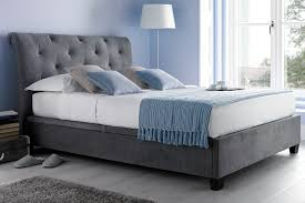 Grey Upholstered Ottoman Bed Kaydian Brunel Ottoman Bed In A Stunning Slate Grey Trent St