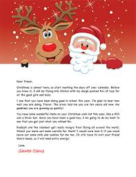 letters from santa letters from santa templates cyberuse