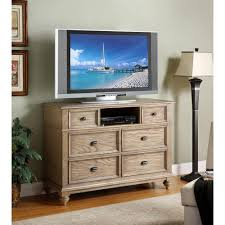 coventry wood entertainment chest tv stand in weathered