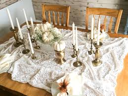 how to thanksgiving table settings on a budget neutrals
