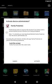 android protection mcafee family protection android apps on play