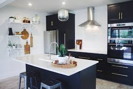 modern black and white kitchens kitchens that get black u0026 white just right apartment therapy